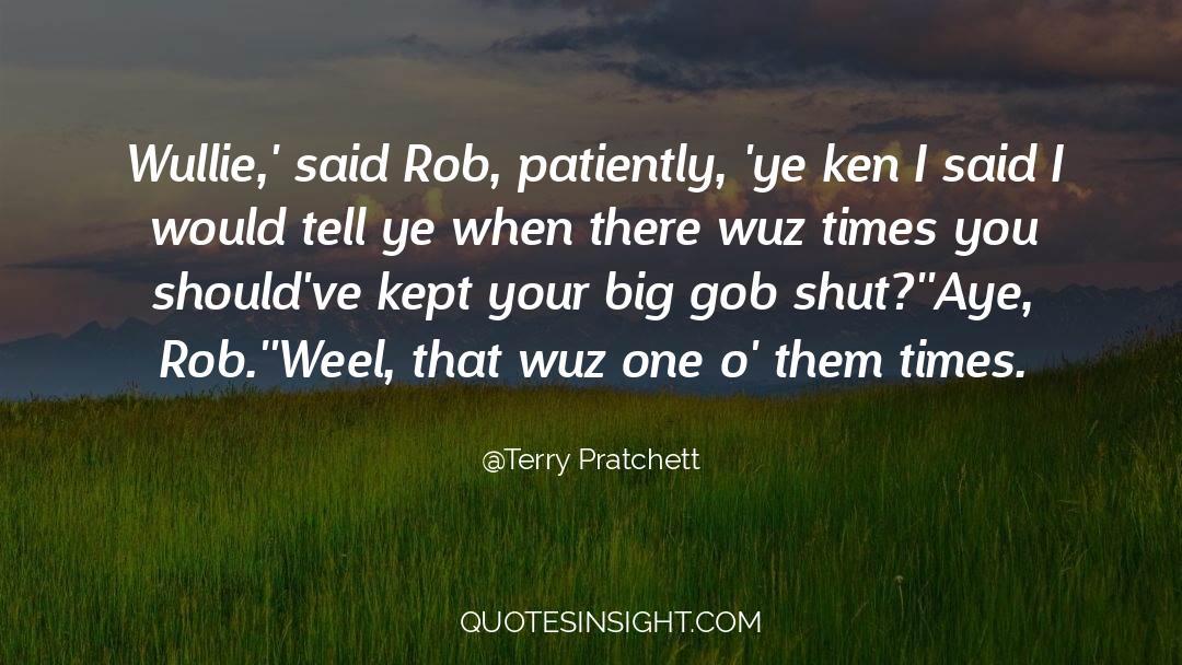 Shut In quotes by Terry Pratchett