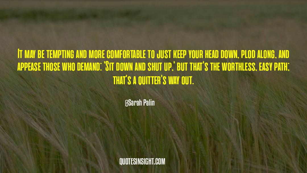 Shut In quotes by Sarah Palin