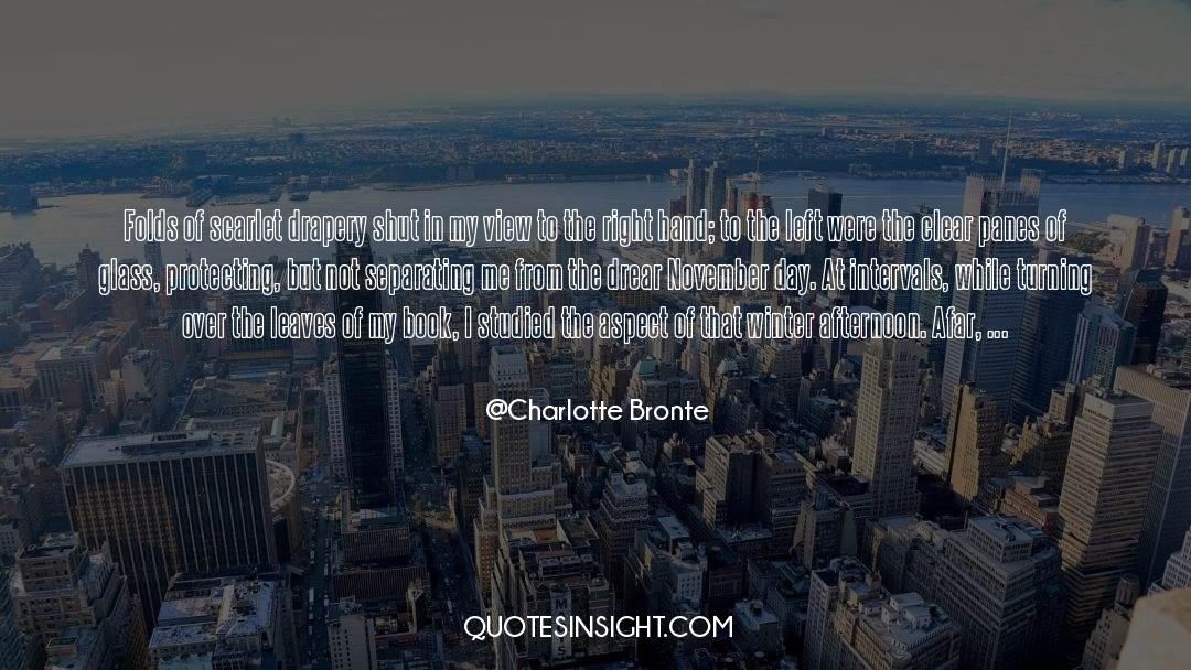 Shut In quotes by Charlotte Bronte