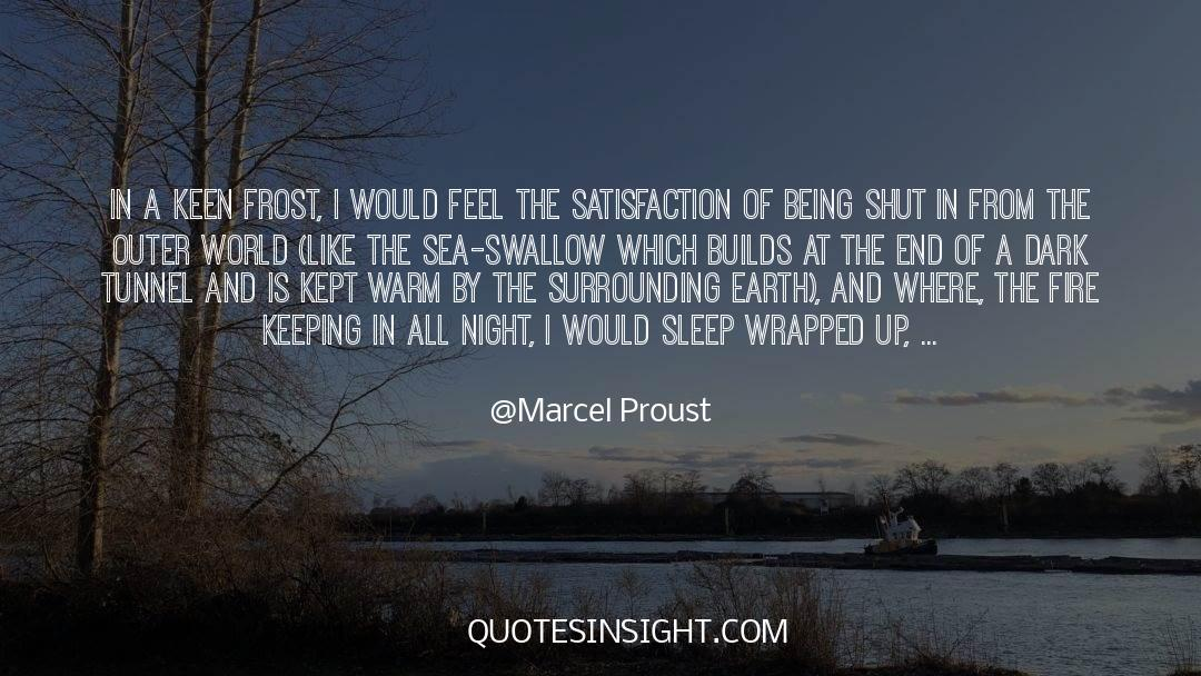 Shut In quotes by Marcel Proust