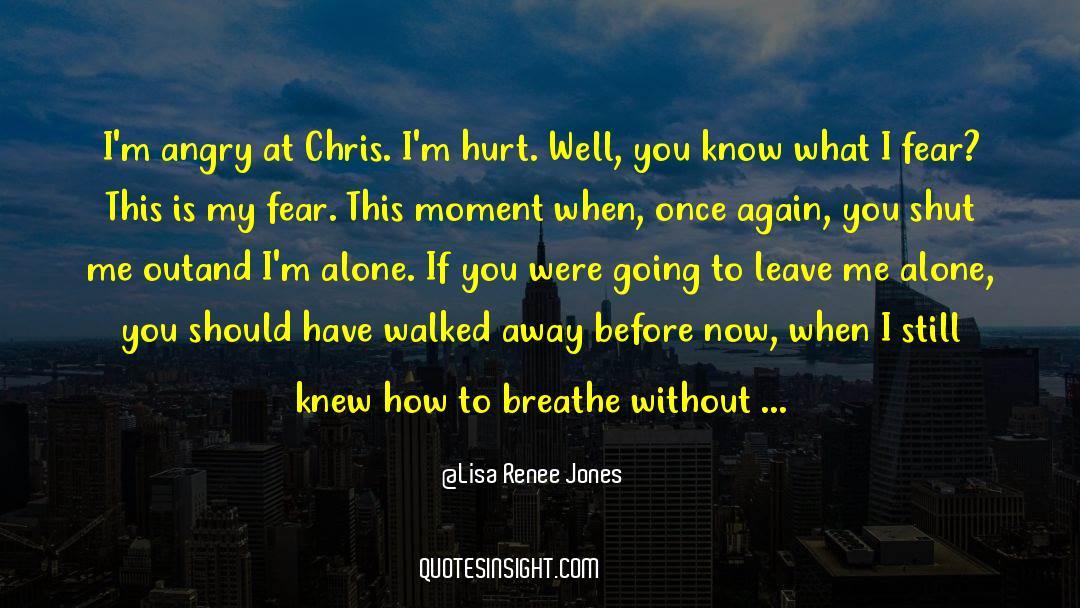 Shut In quotes by Lisa Renee Jones