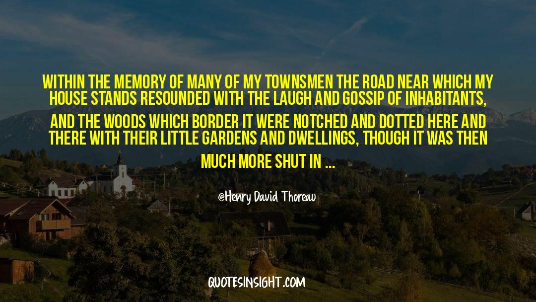 Shut In quotes by Henry David Thoreau