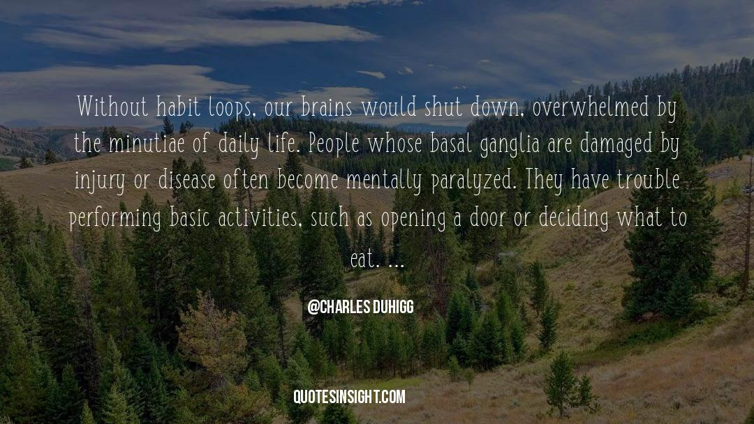 Shut In quotes by Charles Duhigg