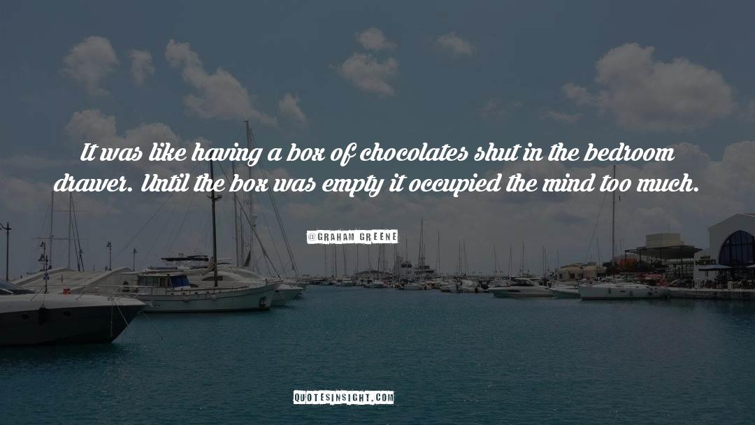 Shut In quotes by Graham Greene
