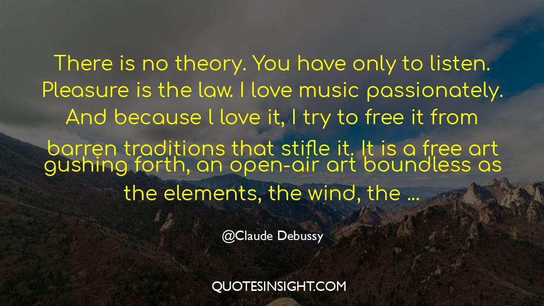Shut In quotes by Claude Debussy