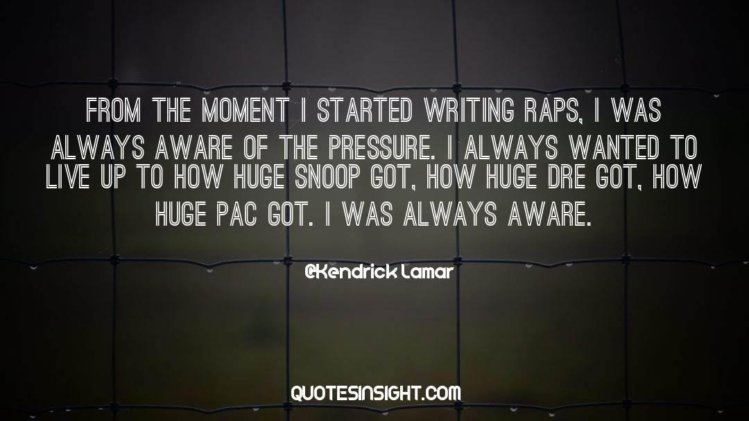 Snoop quotes by Kendrick Lamar