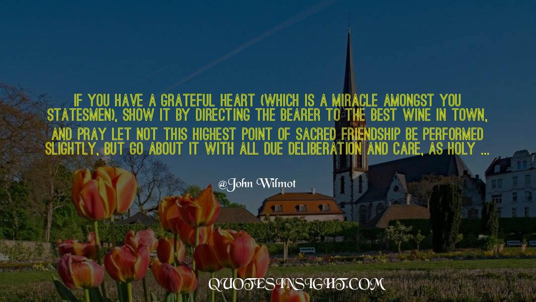 Songs Are Humming In My Heart quotes by John Wilmot