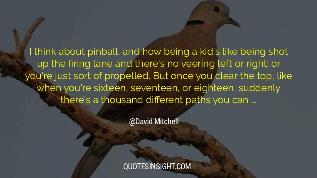 Swim The Fly quotes by David Mitchell