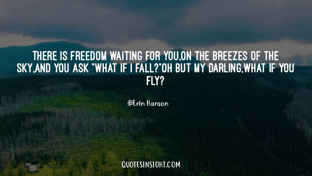 Swim The Fly quotes by Erin Hanson