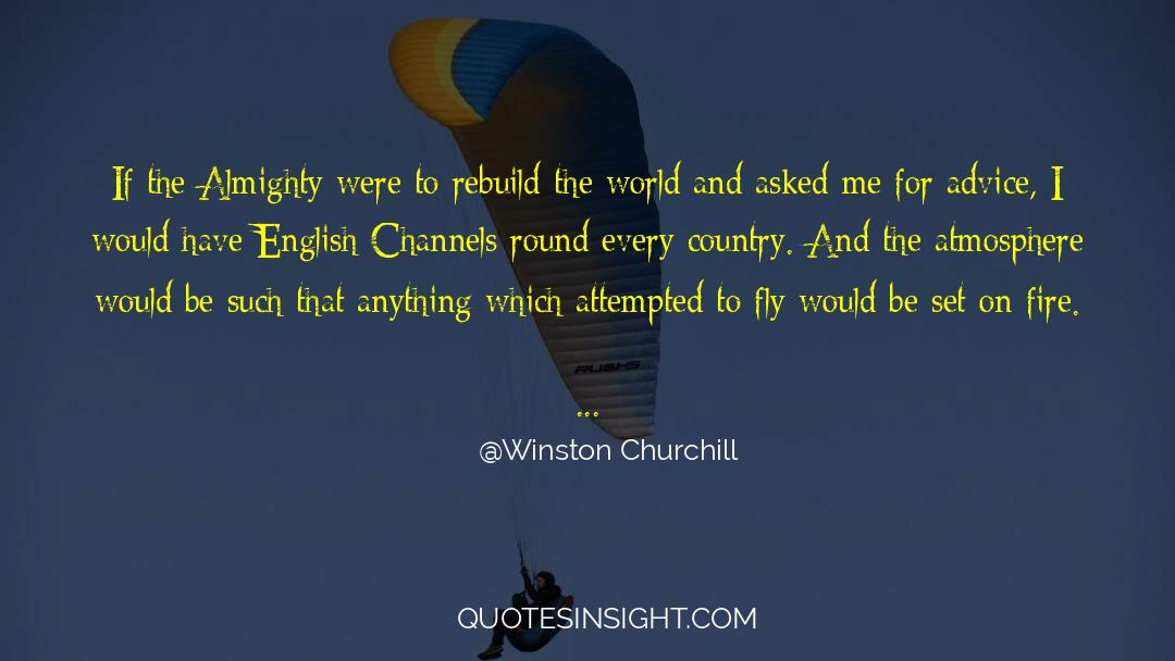 Swim The Fly quotes by Winston Churchill