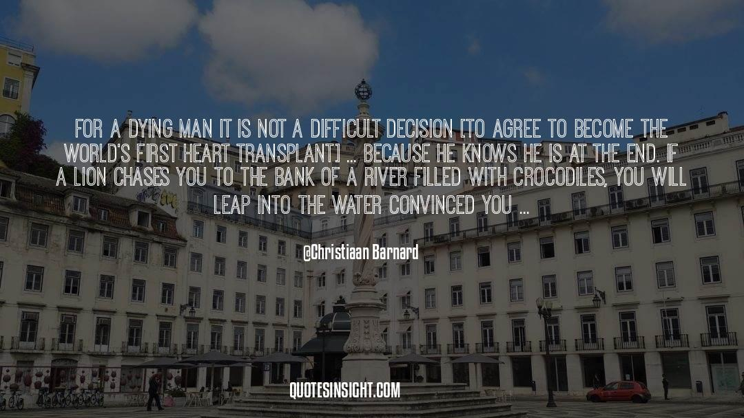 Swim The Fly quotes by Christiaan Barnard