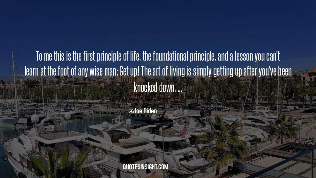 The Art Of Living quotes by Joe Biden
