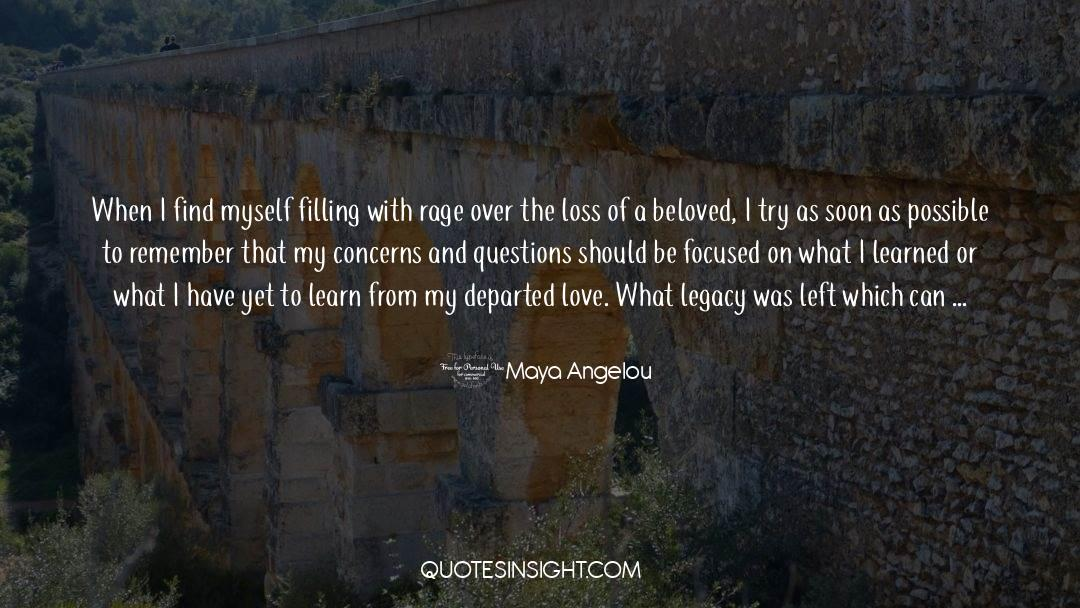 The Art Of Living quotes by Maya Angelou