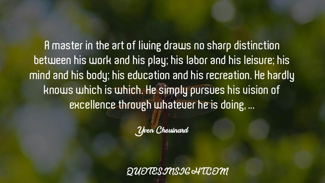 The Art Of Living quotes by Yvon Chouinard