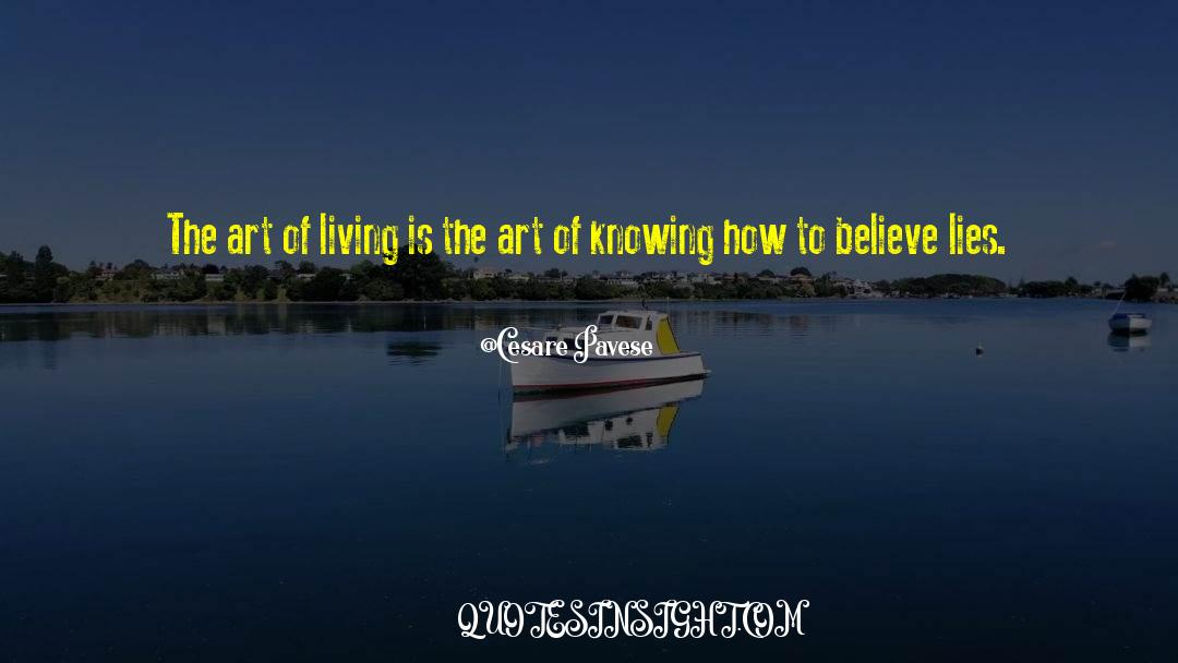 The Art Of Living quotes by Cesare Pavese
