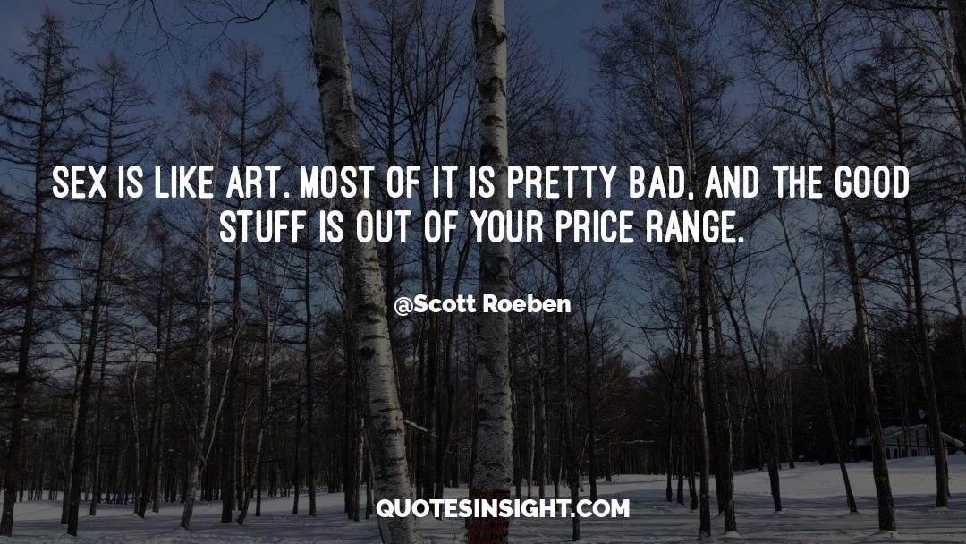 The Art Of Living quotes by Scott Roeben