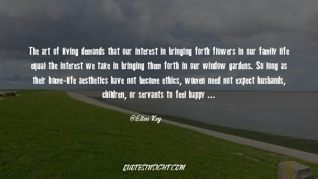 The Art Of Living quotes by Ellen Key