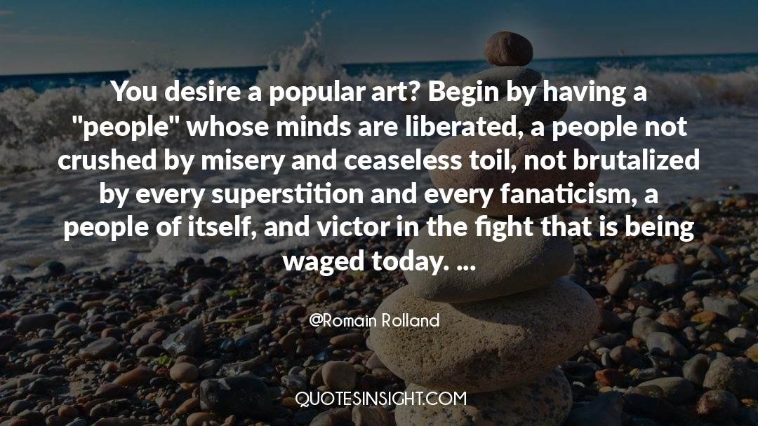 The Art Of Living quotes by Romain Rolland