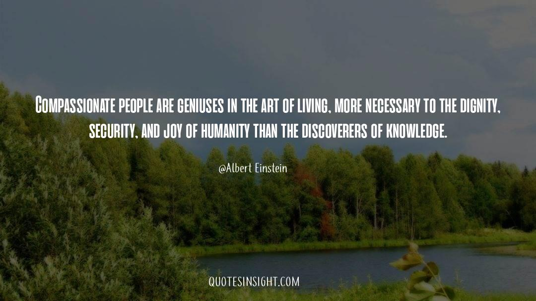 The Art Of Living quotes by Albert Einstein