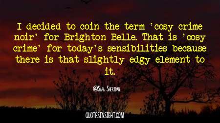 Cosy Crime Quotes
