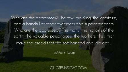 Who Are The Oppressed Quotes