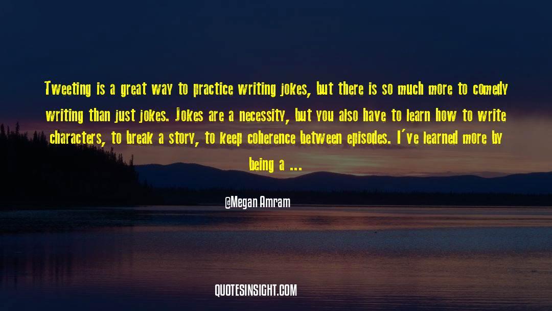 Tv Reporter quotes by Megan Amram