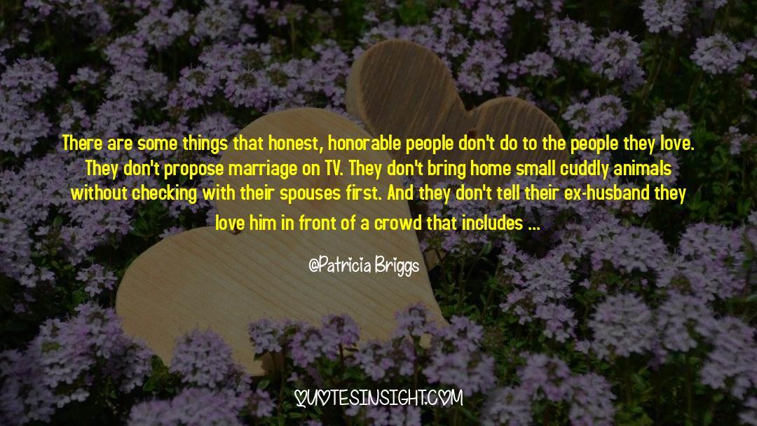 Tv Reporter quotes by Patricia Briggs