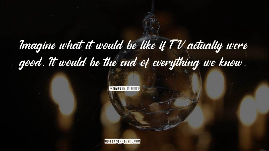 Tv Reporter quotes by Marvin Minsky