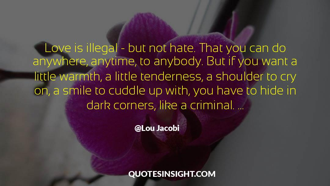 Undivided Love quotes by Lou Jacobi