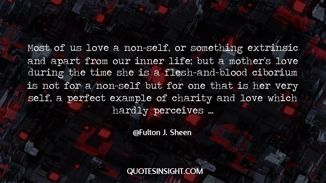 Undivided Love quotes by Fulton J. Sheen