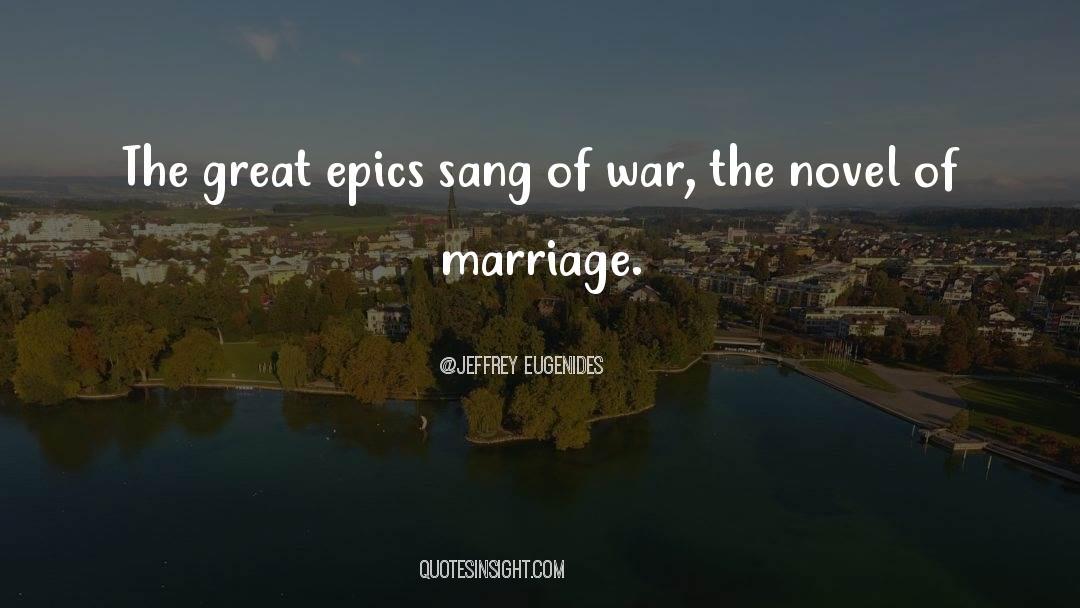 Viking War quotes by Jeffrey Eugenides