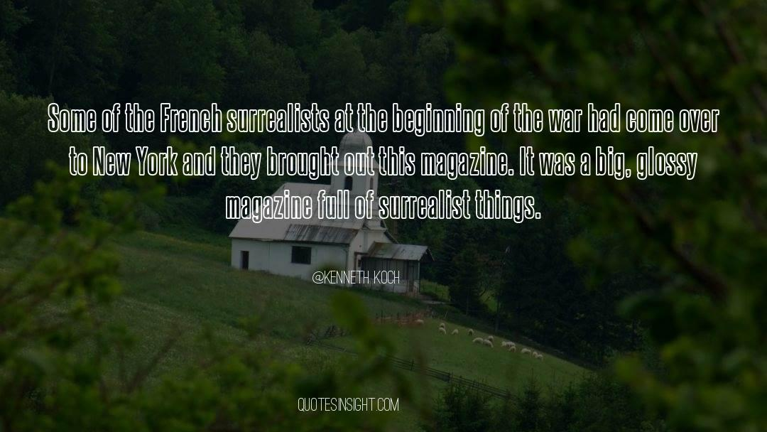 Viking War quotes by Kenneth Koch