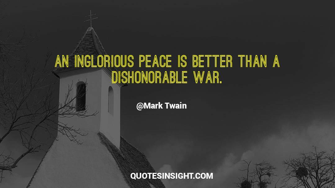 Viking War quotes by Mark Twain