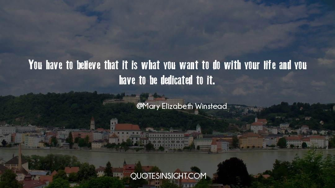 Why Do You Want It quotes by Mary Elizabeth Winstead