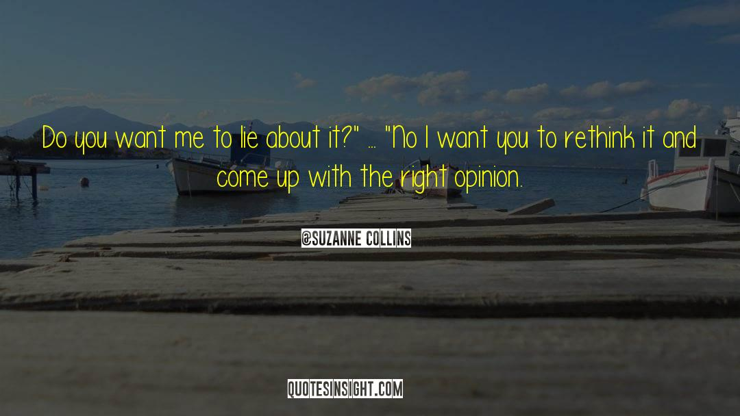 Why Do You Want It quotes by Suzanne Collins