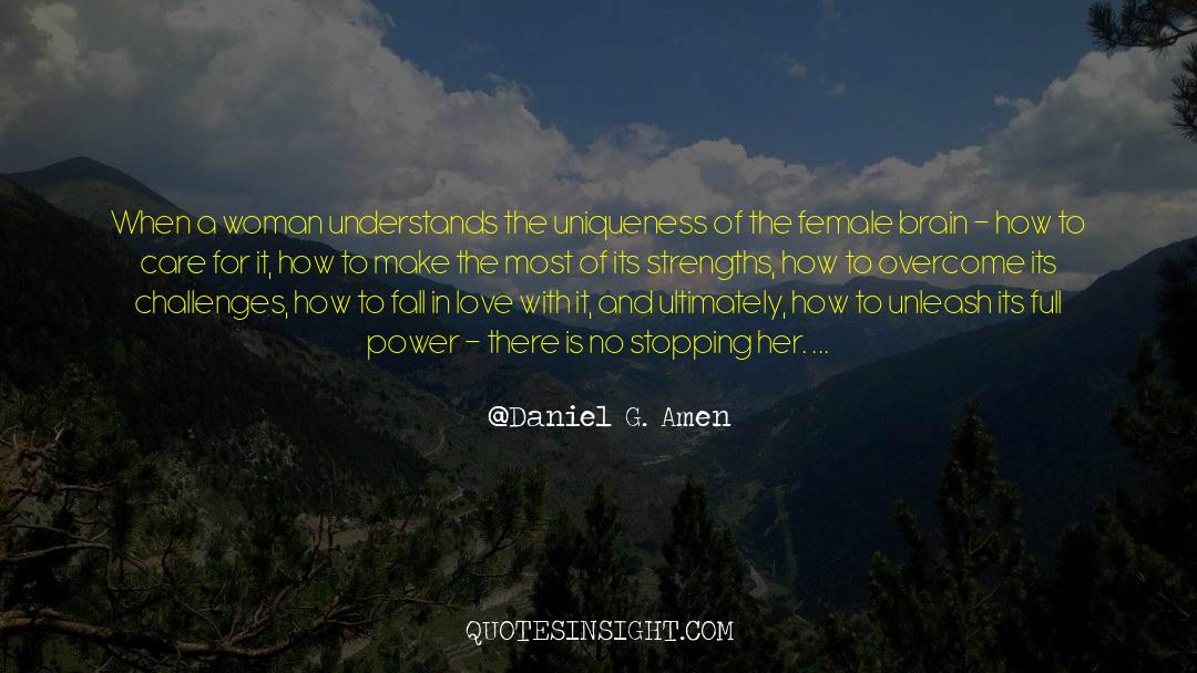 Work And Emotional Commitment quotes by Daniel G. Amen