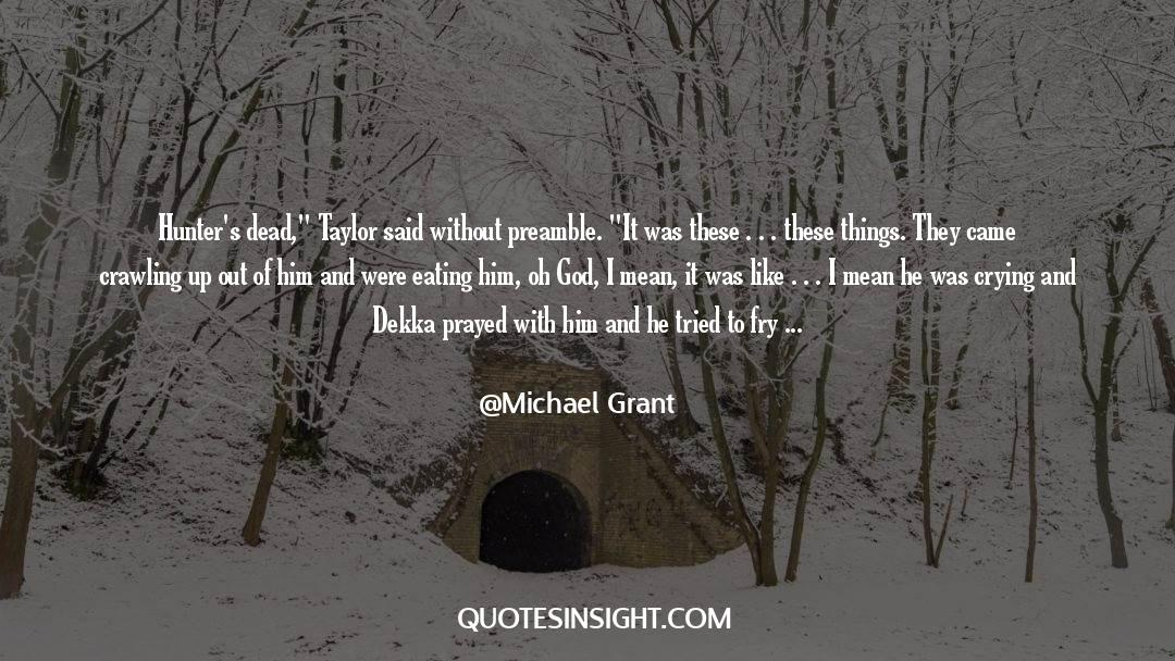Work And Emotional Commitment quotes by Michael Grant