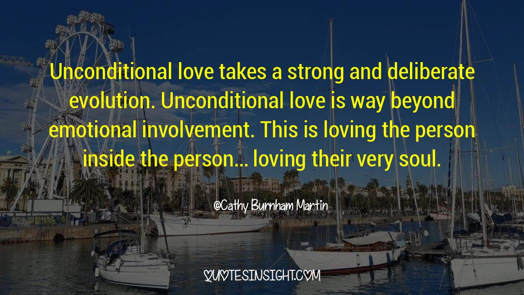 Work And Emotional Commitment quotes by Cathy Burnham Martin