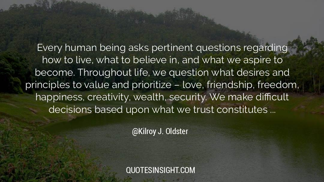 Work And Emotional Commitment quotes by Kilroy J. Oldster